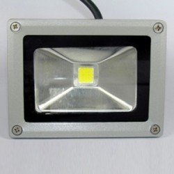 10W Led Bouwlamp 12/24V Koudwit IP65