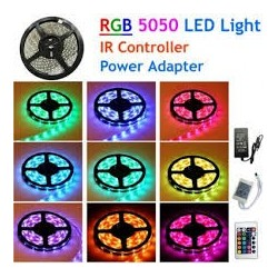 LED strip RGB PRO ip65-meter Plug & play Gekleurde led strip LumenX