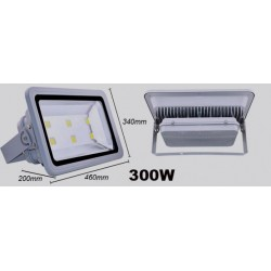 300W led bouwlamp IP65 Helder wit