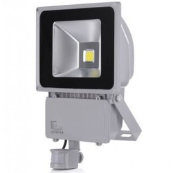 80W LED  Bouwlamp  IP65 Warm wit