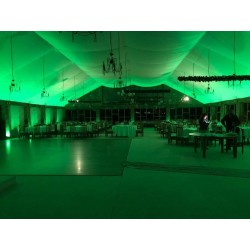 20w  GROEN LED Floodlight met beweging sensor