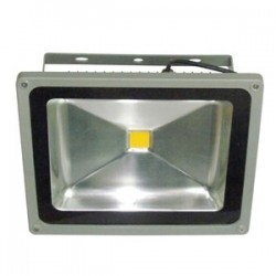50W LED bouwlamp IP65 koudwit