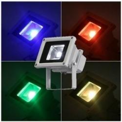 10W RGB  LED bouwlamp  kleur