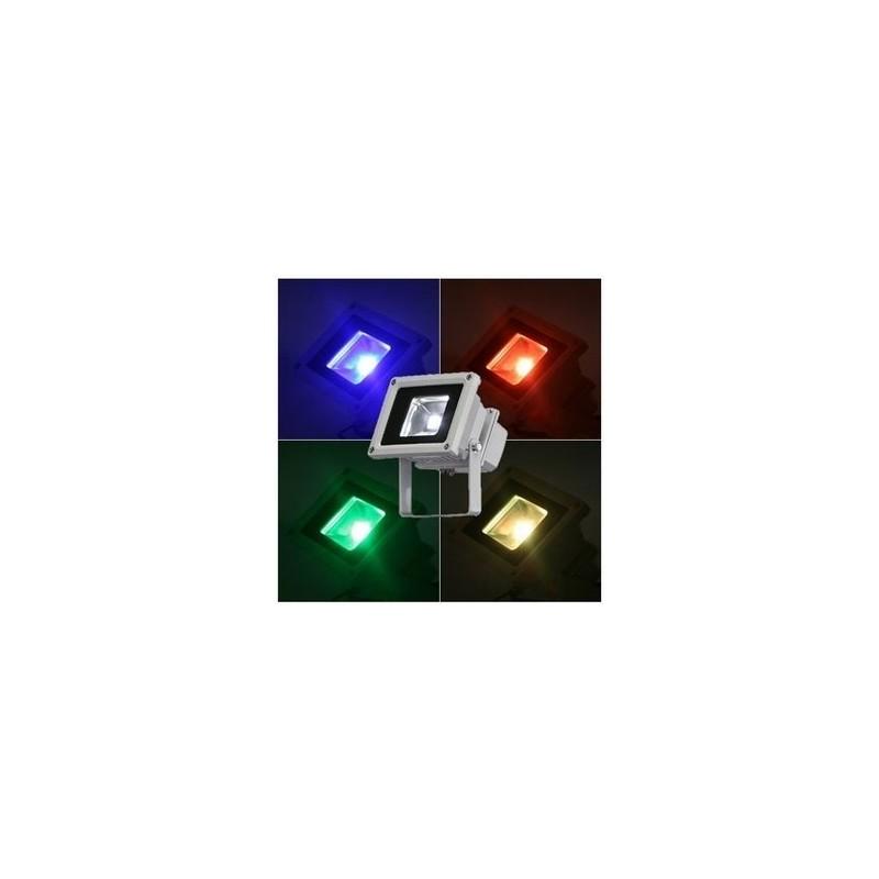 Led schijnwerper kleur led verlichting watt for Kleur led lampen