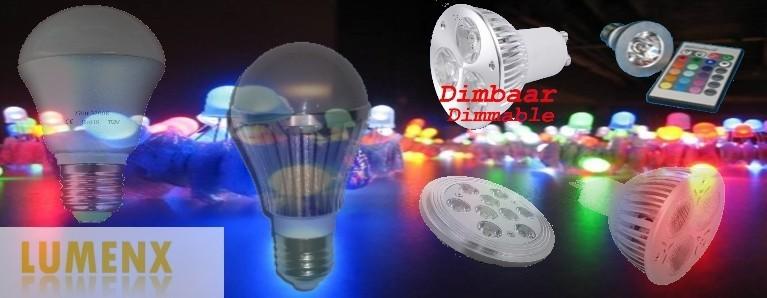 lampen van lumenx LED